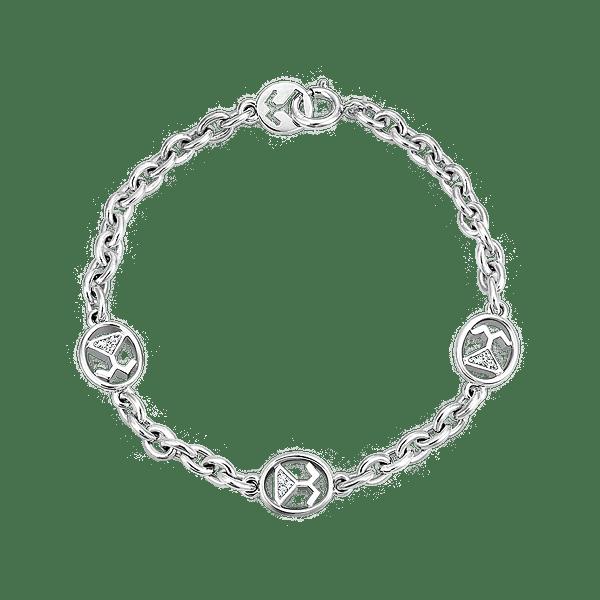 Silver Beawelry CZ Bracelet