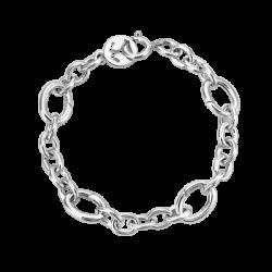 Silver Opened 4 Links Bracelet