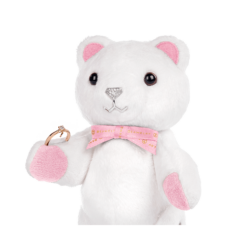 Medio Sparkle Beawelry Bear with a Ring Holder