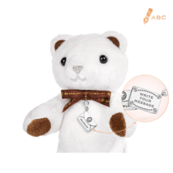 Mini Sparkle Beawelry Bear & Silver Envelope Charm