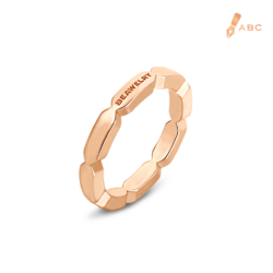 18K Pink Gold Beawelry Band Ring