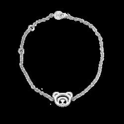 Silver Beawelry Bear Bracelet