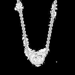 Silver Beawelry Bear Pendant