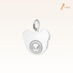 Silver Personalise Beawelry Bear Charm