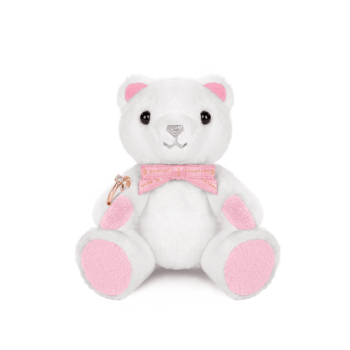Mini Sparkle Beawelry Bear with a Ring Holder
