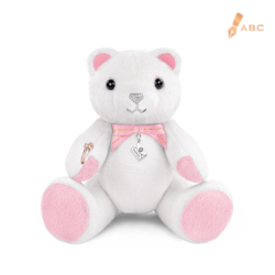 Medio Sparkle Beawelry Bear with a Ring Holder & Silver Envelope Charm