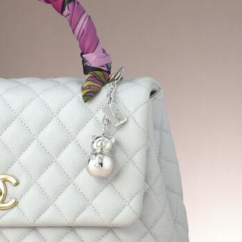 Snowbear CZ Bag Charm