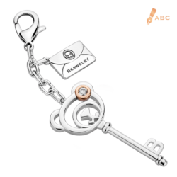 Bear Key CZ Bag Charm