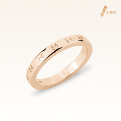 18K Pink Gold Beawelry Eternity Band