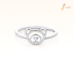 Silver June Birthstone Light Amethyst Color CZ Beawelry Ring