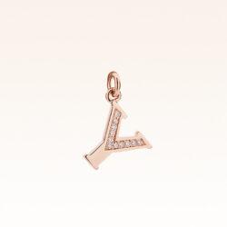 "18K Gold Alphabet Letter ""Y"" Charm"